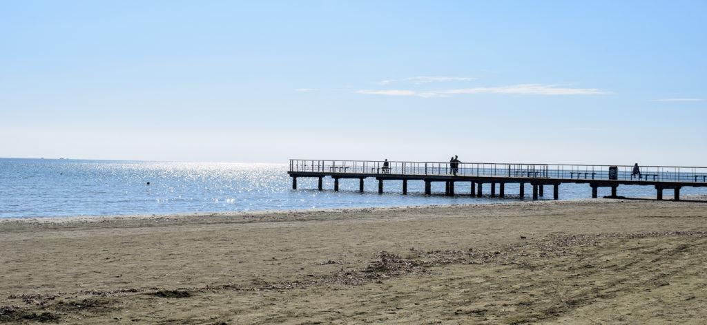 Plaja din Larnaca