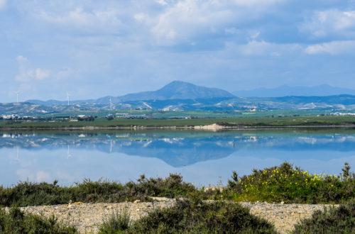 Puntea de piatra de la Cape Greco